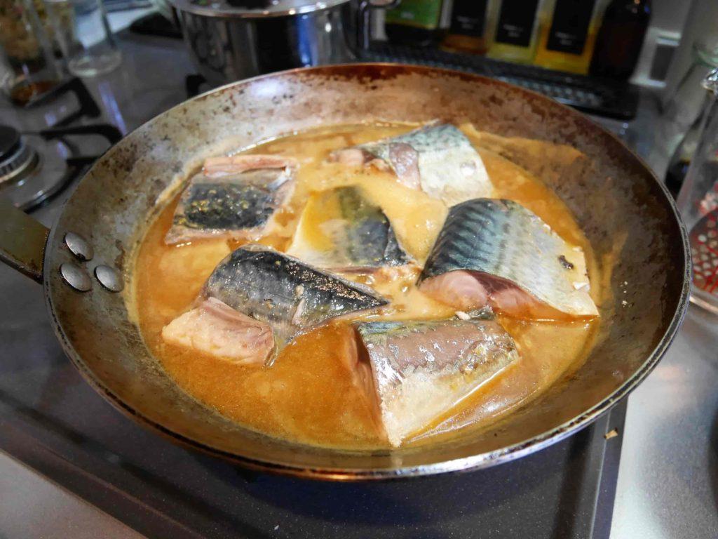 サバの味噌煮(お鍋)