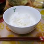 お茶碗に盛り付けて、できあがり / Serve rice in a bowl and ready to eat!